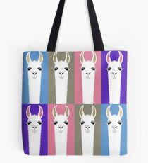 LLAMAS EIGHT Tote Bag