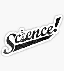 Team Science ! (Black Ink Edition) Sticker