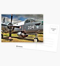 Vintage Fighter Aircraft - Lockheed Neptune Postcards