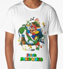 Super Mario World Long T-Shirt