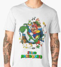 Super Mario World Men's Premium T-Shirt