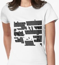Black and white lines perspective v1.1 T-Shirt