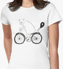 Big bear on bike T-Shirt