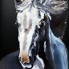 Horse Ghost by BluedarkArt