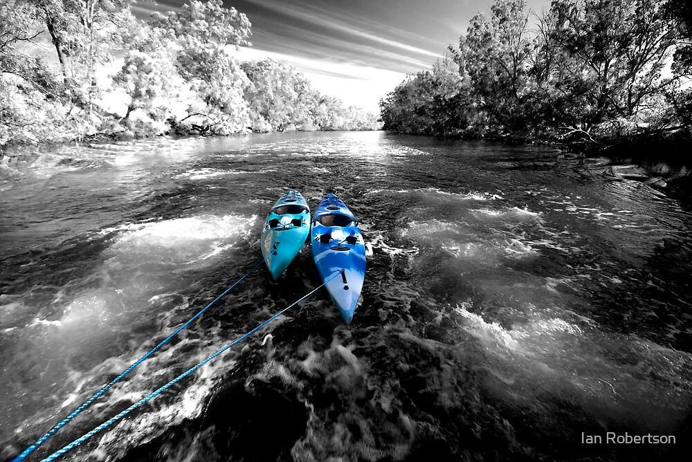 whitewater 2 by Ian Robertson