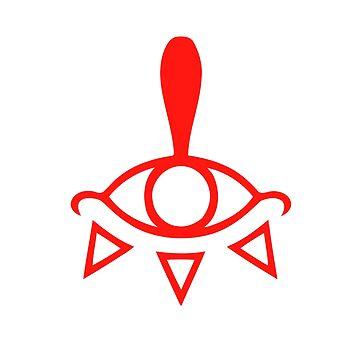 Zelda Breath of the Wild - Yiga Clan Symbol by nintendino
