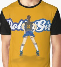 RollerGirl No2 Graphic T-Shirt