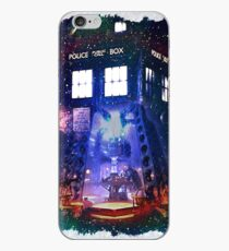 Nebula Public call Box In Space iPhone Case iPhone Case
