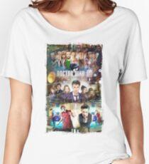 Tardis character T-Shirt Women's Relaxed Fit T-Shirt