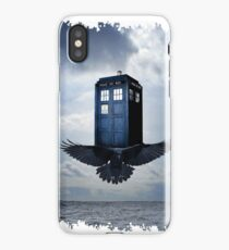 Police Call Box Flying with the Bird iPhone 6 Case iPhone Case