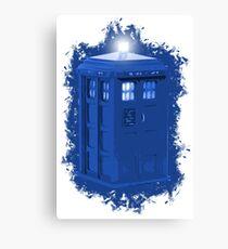 blue Box iPhone 6 plus case Canvas Print