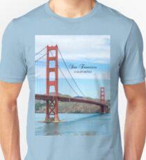 San Francisco, California - Golden Gate Bridge Unisex T-Shirt