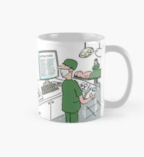 Surgeon Prepares for an Operation Mug