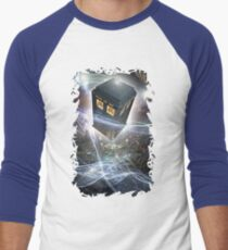 time lord blue box iPhone 6 plus cases Men's Baseball ¾ T-Shirt