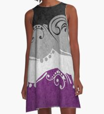 Asexual Ornamental Flag A-Line Dress