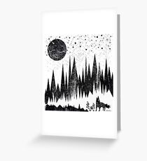 Moonshine Greeting Card