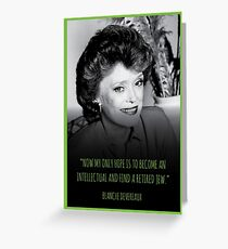 The Golden Girls - Blanche - Birthday Card Greeting Card
