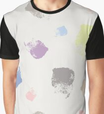 Dry brush hand drawn sketch artsy pattern neutral colours Graphic T-Shirt