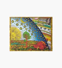 Flammarion engraving in Color Art Board