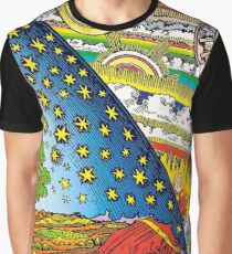 Flammarion engraving in Color Graphic T-Shirt