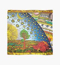 Pañuelo Flammarion grabado en color