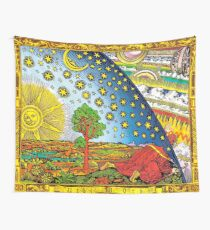 Flammarion engraving in Color Wall Tapestry