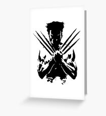 James Howlett - Weapon X Greeting Card