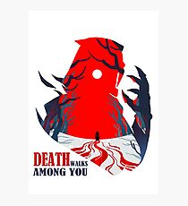 Death Among You Photographic Print