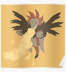 Hydreigon cute Poster