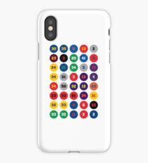 Legends of the NBA ~ 80s, 90s 00s, 10s iPhone Case/Skin