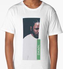 DAMN. - KENDRICK LAMAR ILLUSTRATION - green Long T-Shirt