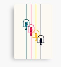 Chime in CMYK Canvas Print