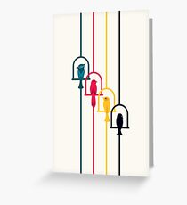 Chime in CMYK Greeting Card