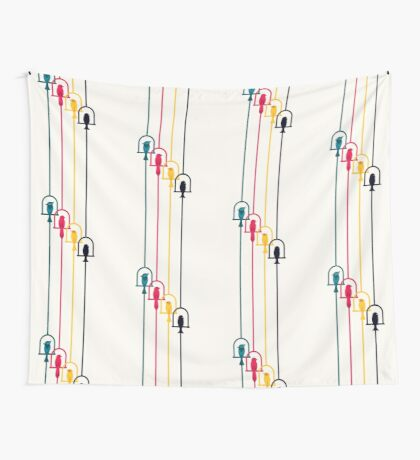 Chime in CMYK Wall Tapestry