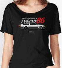 AE86 Trueno Women's Relaxed Fit T-Shirt