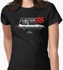 AE86 Trueno Womens Fitted T-Shirt