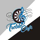 Treble Clefs Darts Team by mydartshirts