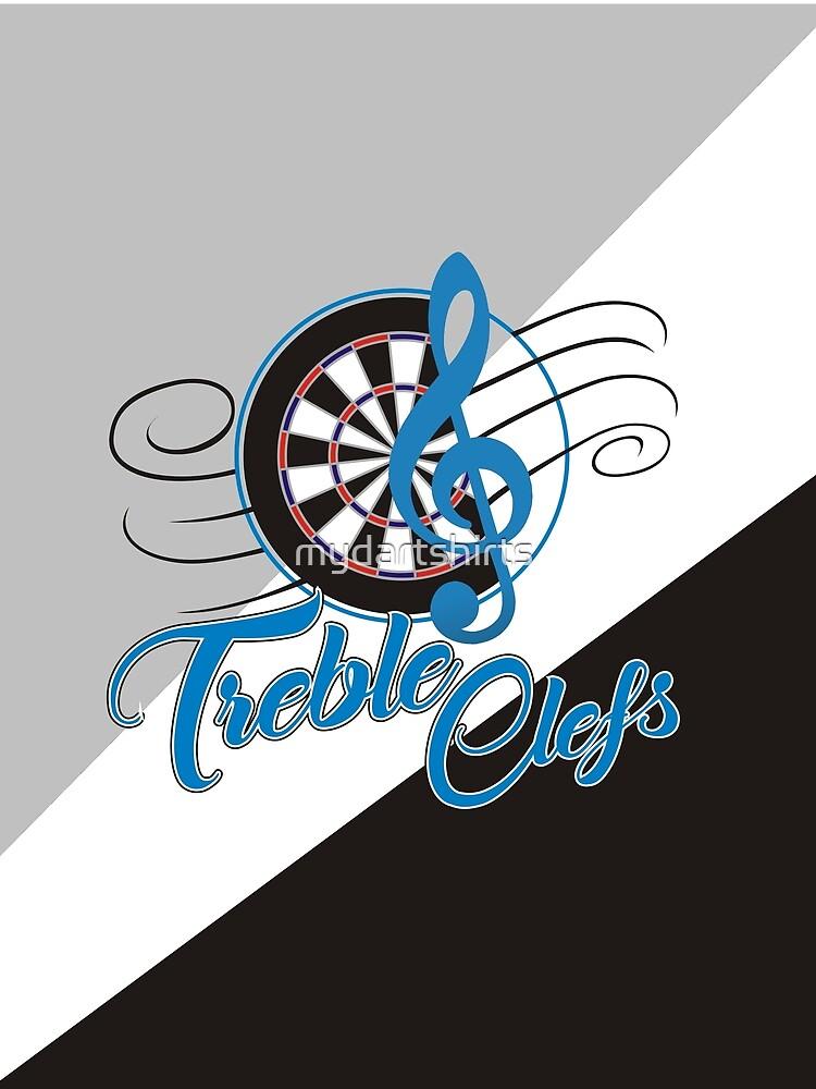 Treble Clefs Darts Team by mydartshirts