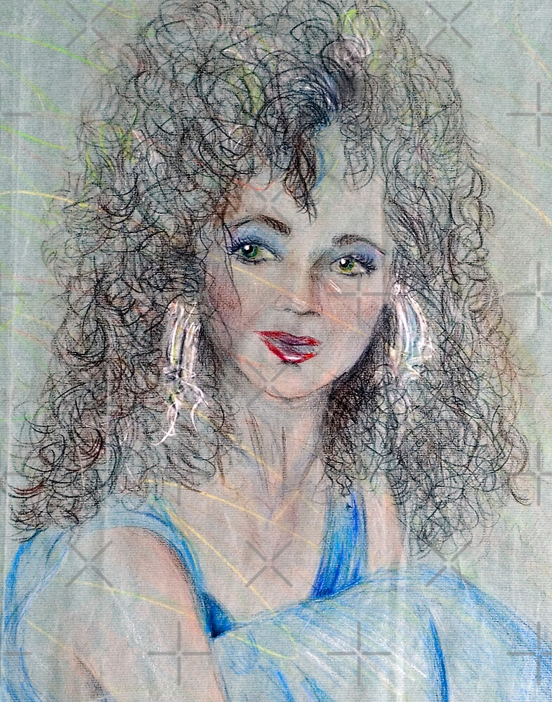 Mystic, Colored Pencil Drawing by Danielle Scott
