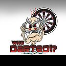 Who Darted Darts Team by mydartshirts