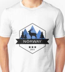 Norway Outdoor Elk Unisex T-Shirt