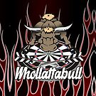 WhollottaBull Darts Team by mydartshirts