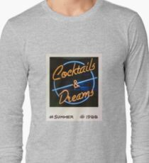 Cocktails and Dreams 80s Polaroid T-Shirt