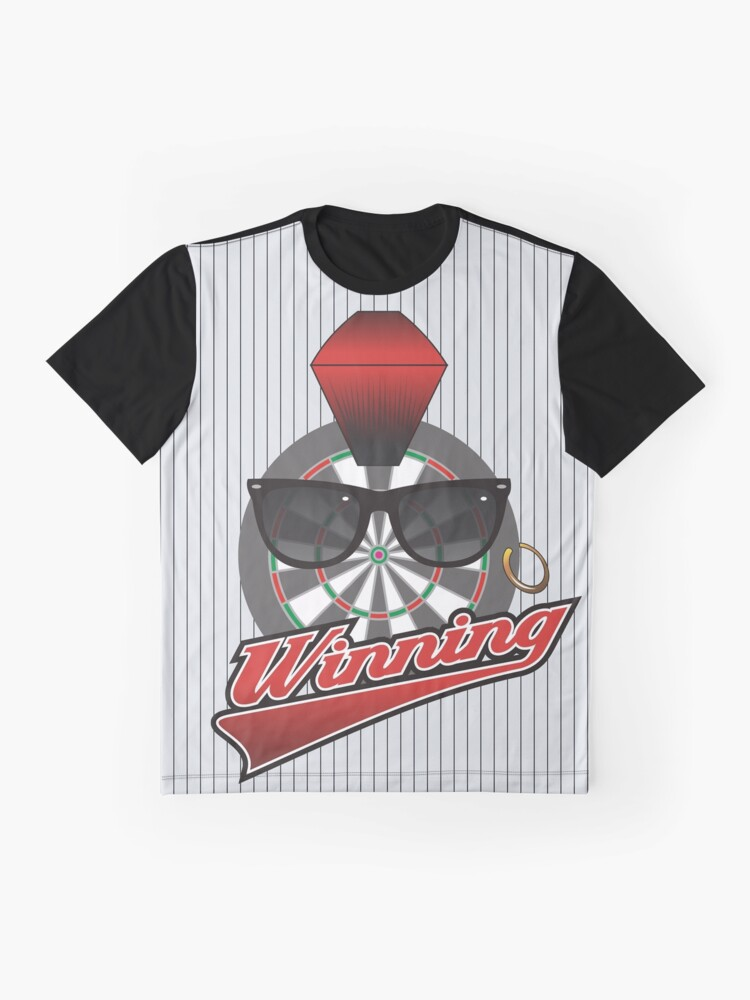 Alternate view of Winning Darts Team Graphic T-Shirt