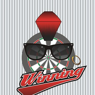 Winning Darts Team by mydartshirts