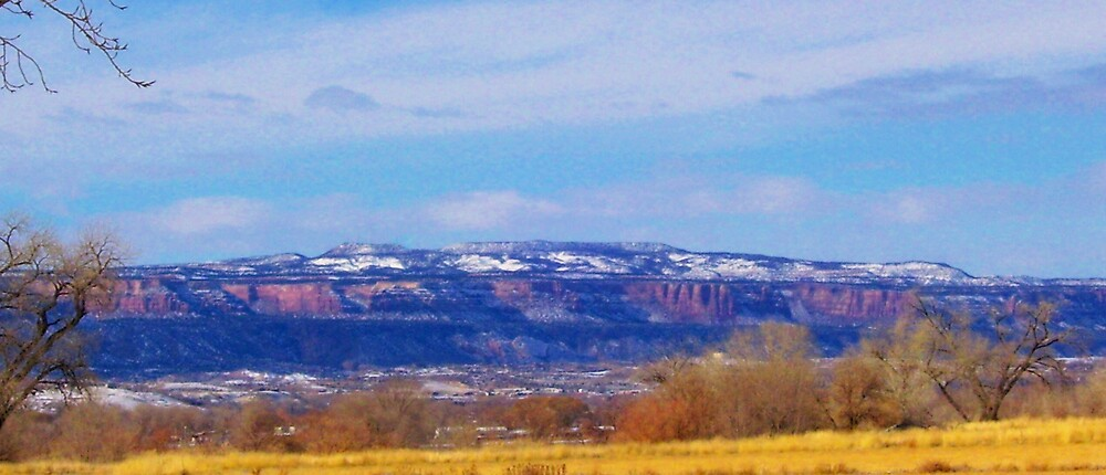 panoramic mountians by kristal ingersoll
