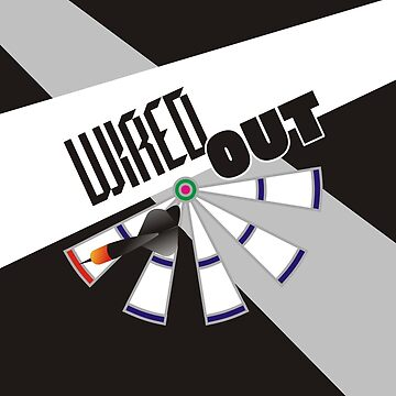 Wired Out Darts Team by mydartshirts