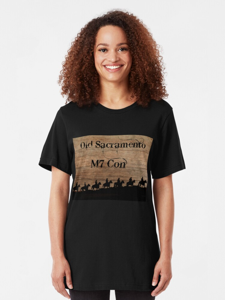 Alternate view of Old Sacramento M7 Con Convention Tee Shirt Slim Fit T-Shirt