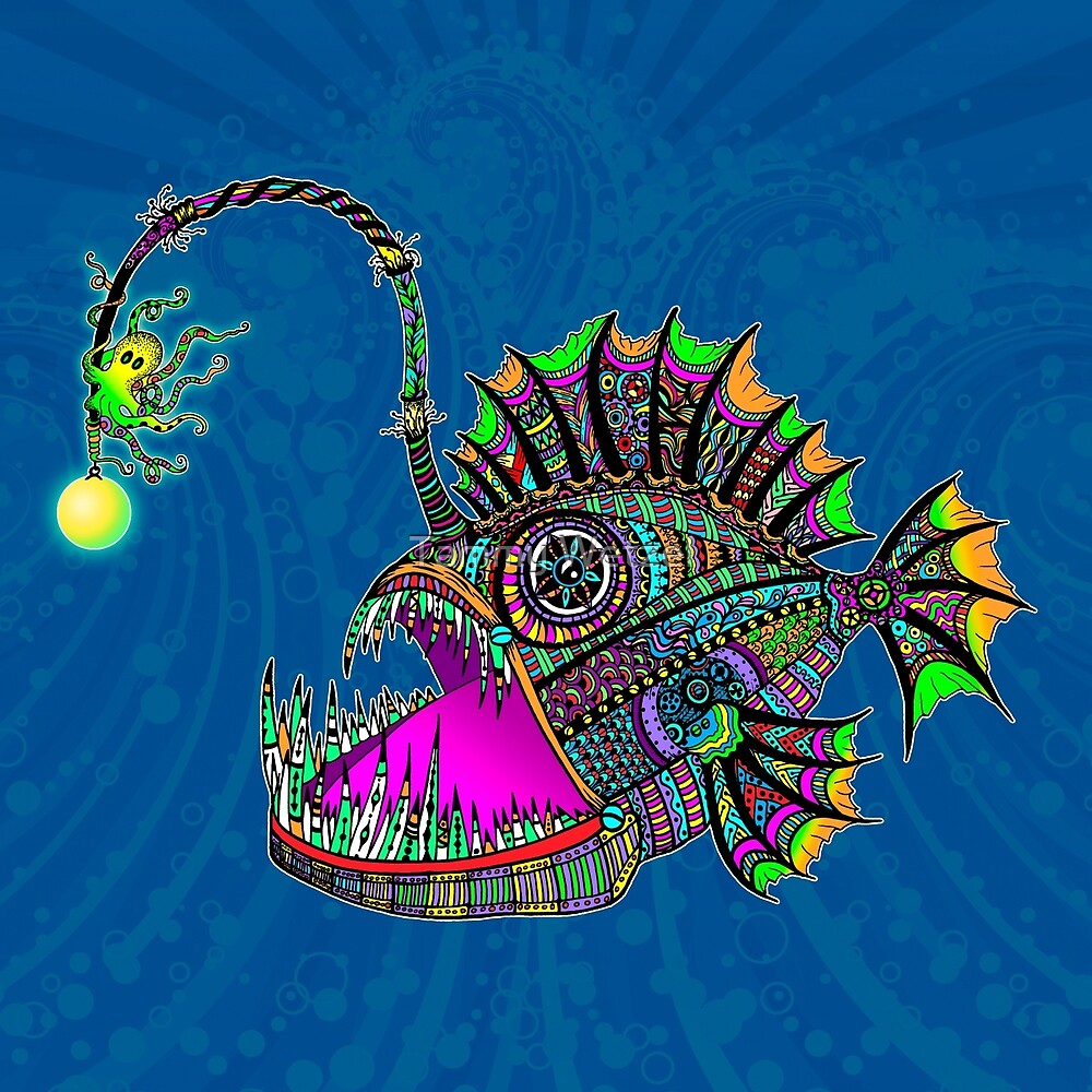 Electric Angler Fish by Tammy Wetzel