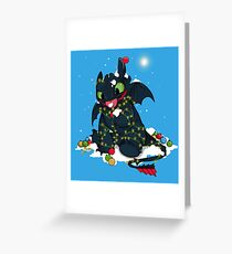 Light Fury Greeting Card